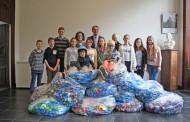 Succès pour la 1ère collecte de bouchons organisée par le Conseil Municipal des Enfants