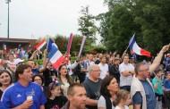 France/Roumanie sur grand écran