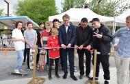 Inauguration du skatepark