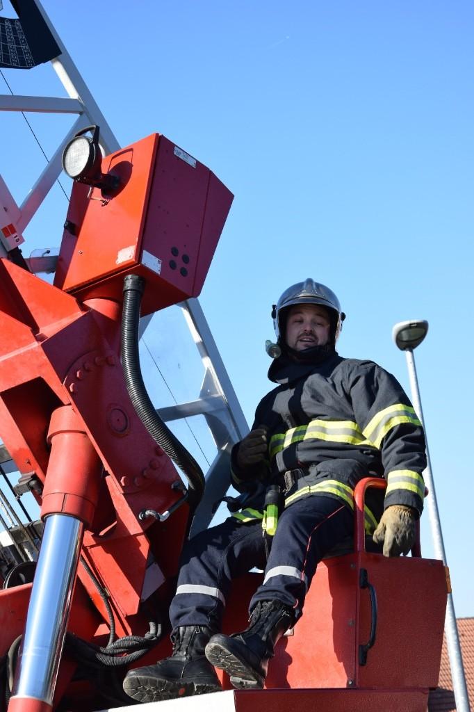 Démonstration des activités des Jeunes Sapeurs Pompiers
