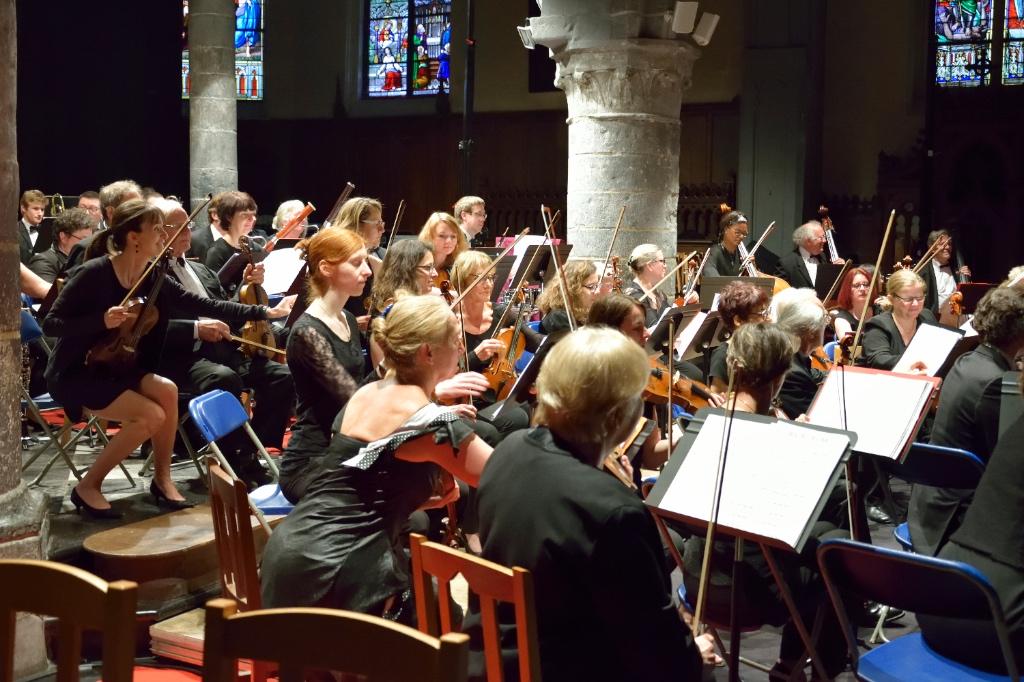 L'orchestre de La folia de Lille à Templeuve-en-Pévèle