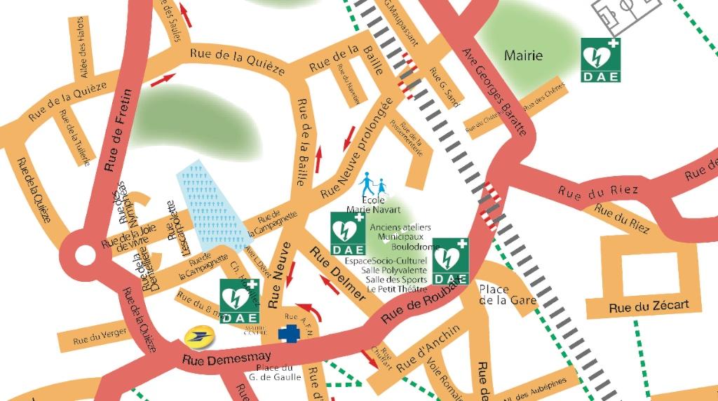 Plan défibrilateur centre1