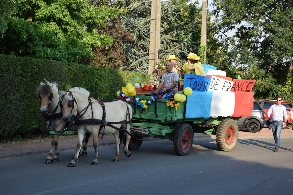 Templeuve-en-Pévèle célèbre la fête Nationale.