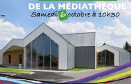 Ouverture et inauguration de la médiathèque de Templeuve-en-Pévèle