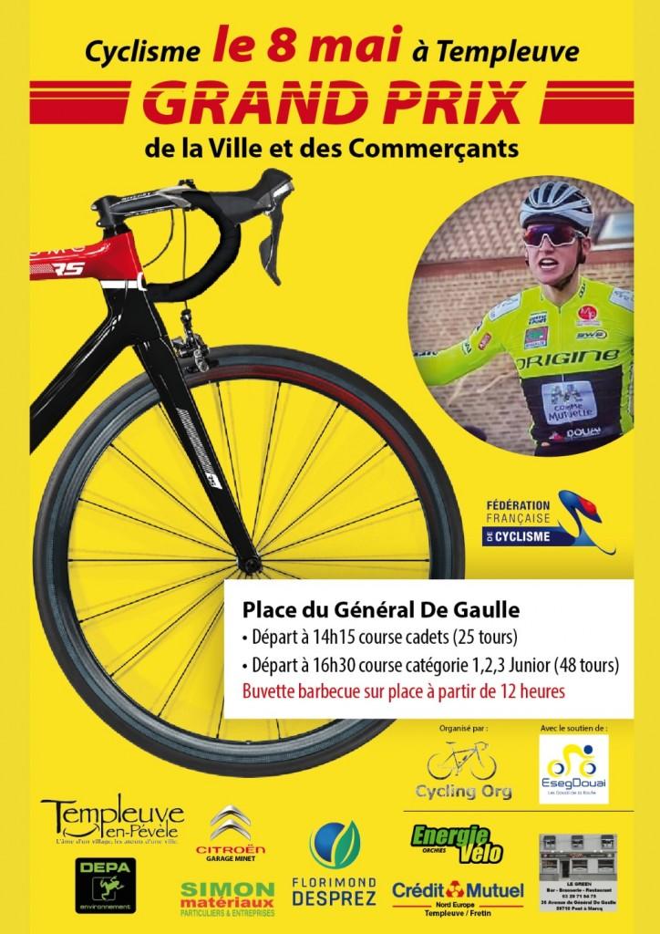 Grand prix vélo du 8 mai 2019