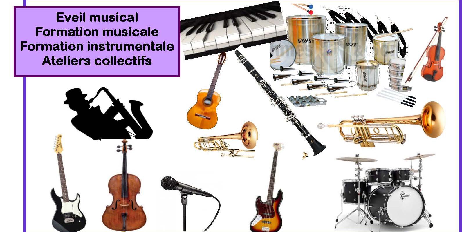 Inscription 2019-2020 à l'école de musique en pays de Pévèle