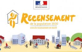 Recrutement pour effectuer le recensement de la commune en 2020