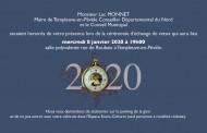 Invitation à la cérémonie d'échange de voeux