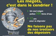 Lutter contre la pollution des mégots