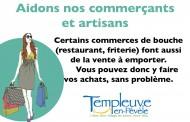 Aidons les commerçants et artisans