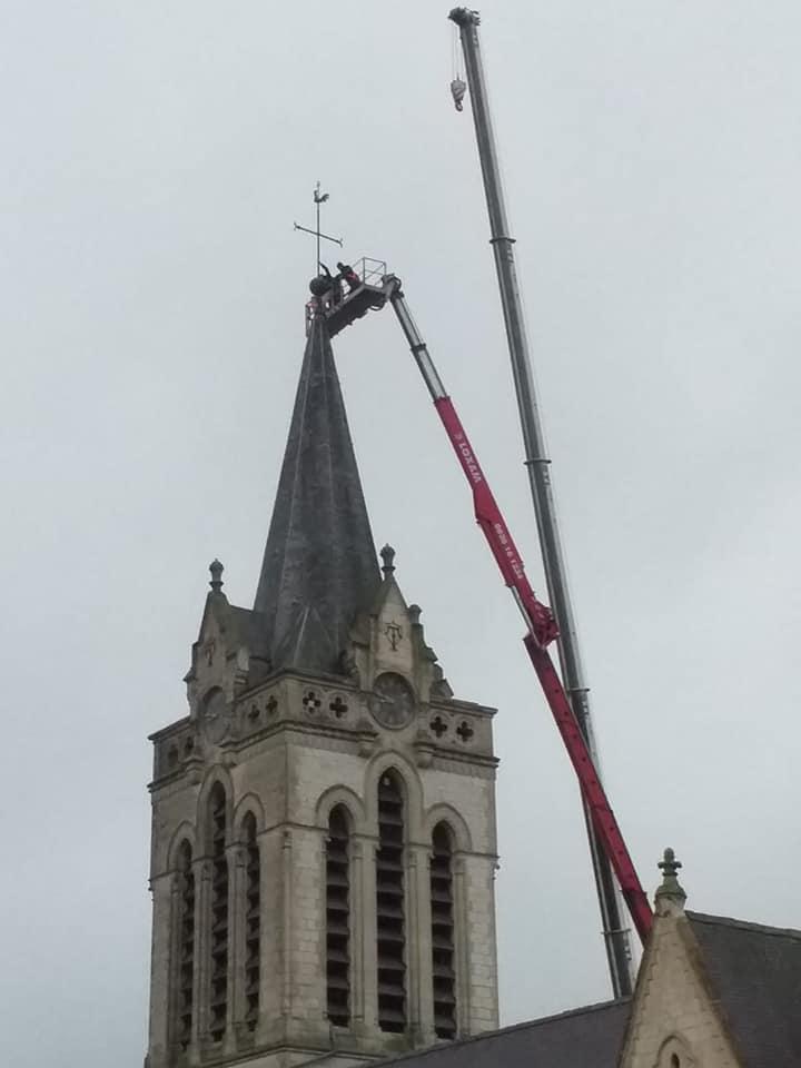 L'église Saint Martin se refait une santé