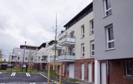 Réception des derniers logements locatifs au Clos des lupins, à proximité de la gare