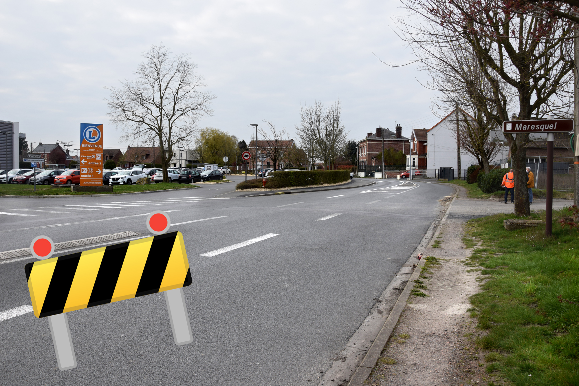 Circulation alternée rue du Maresquel