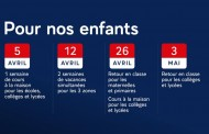 Fermeture des écoles, confinement jusqu'au 2 mai : ce qu'il faut retenir des annonces d'Emmanuel Macron