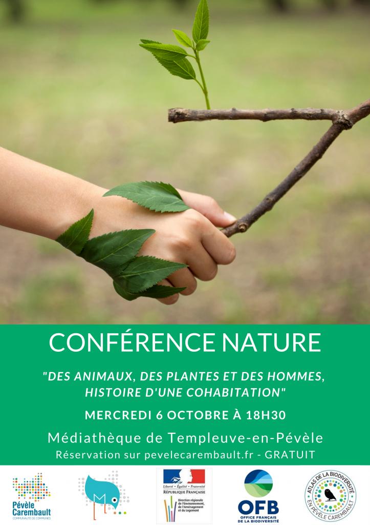 Conférence Atlas biodiversité animation Templeuve